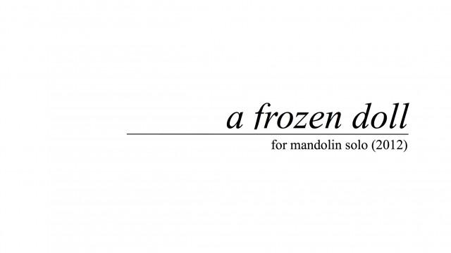ELP012 a frozen doll