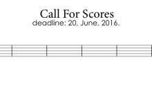 Call for Scores