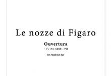 ELP-A07 「フィガロの結婚」序曲 マンドリン二重奏版